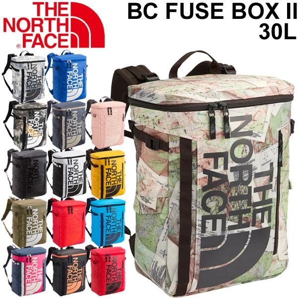 バックパック デイパック ノースフェイス THE NORTH FACE ベースキャンプ ヒューズボックス 2/メンズ レディース ボックス型 30L リュックサック アウトドア カジュアル 縦型 鞄 かばん BC Fuse Box 正規品/ NM81817
