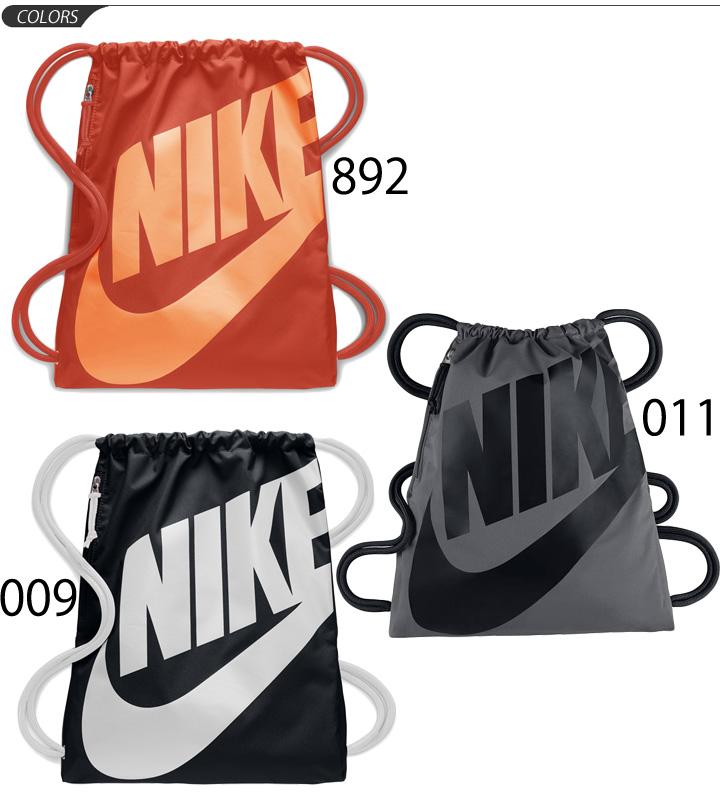 646e5a0f296a9 ... Knapsack Nike NIKE heritage gym case sports bag bag drawstring purse  big logo multipack laundry shoes ...