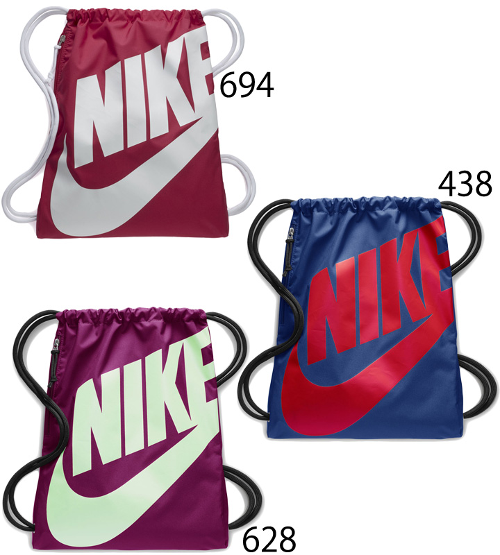 d907b6adc9b18 ... Knapsack Nike NIKE heritage gym case sports bag bag drawstring purse  big logo multipack laundry shoes