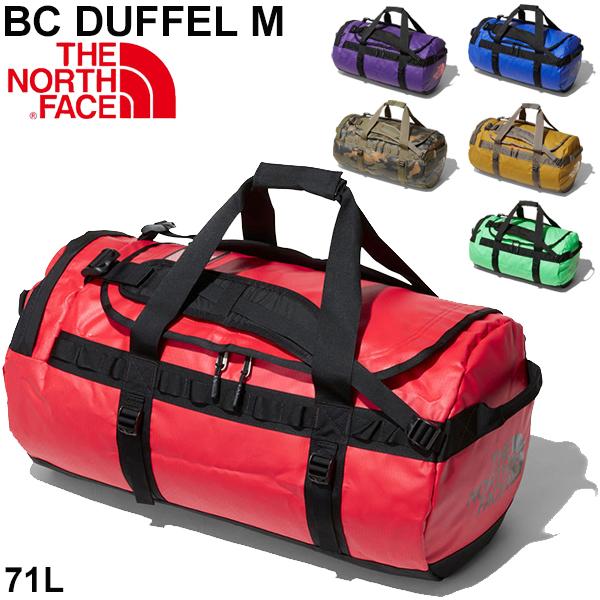 ボストンバッグ メンズ レディース ノースフェイス THE NORTH FACE BCダッフルM 71L アウトドアバッグ 中型 大容量 かばん 男女兼用 キャンプ 旅行 トラベル 出張 鞄 かばん/NM81814-