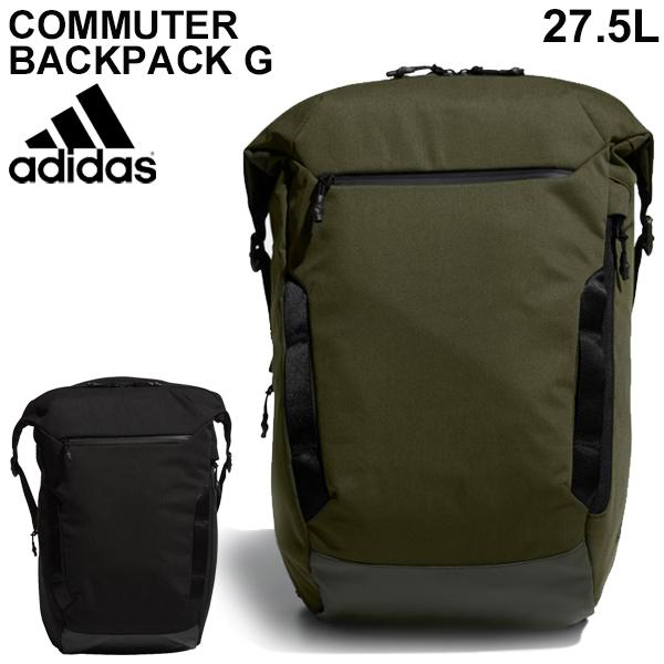 リュックサック バッグ メンズ レディース アディダス adidas COMMUTER バックパックG 約27L/デイパック 多機能 男女兼用 通勤 通学 普段使い かばん スポーツバッグ シンプル/ FYP45【取寄】