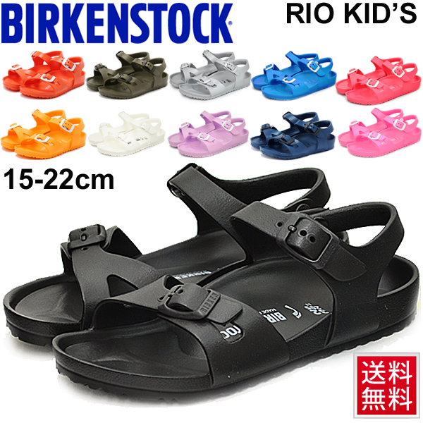 new products offer discounts factory authentic Child child ビルケンシュトック BIRKENSTOCK RIO KIDS EVA sandals Rio child shoes  15-22.0cm ナロウ width narrow boy girl strap sandals light weight washable ...