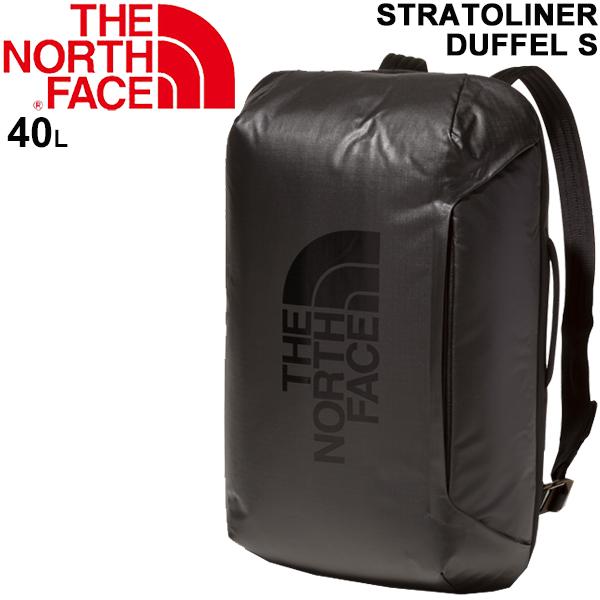 ダッフルバッグ メンズ レディース ノースフェイス THE NORTH FACE ストラトライナーダッフルS 40リットル 3WAY バックパック 手提げ 男女兼用 鞄 旅行 トラベル 出張 普段使い アウトドア かばん/NM81915