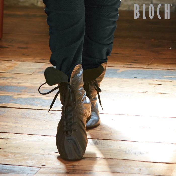 BLOCH(ブロック)ウルトラフレックスブーツ スプリットソール ジャズ フラメンコ フォークダンス モダンバレエ 22.2~26.6cm ブラック