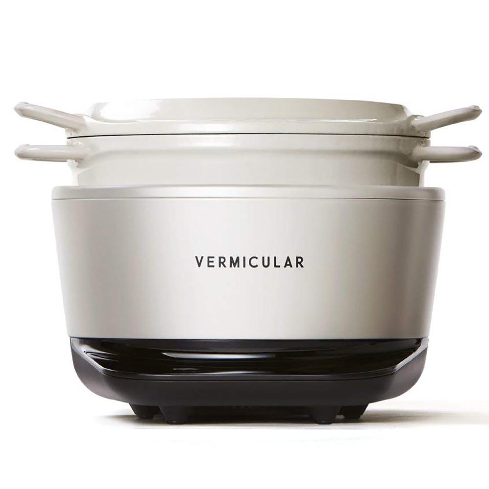 バーミキュラ ライスポット 3合炊き VERMICULAR RICEPOT インスタ映え TVで紹介 RP19A-SV RP19A-GY RP19A-WH ライスポッド