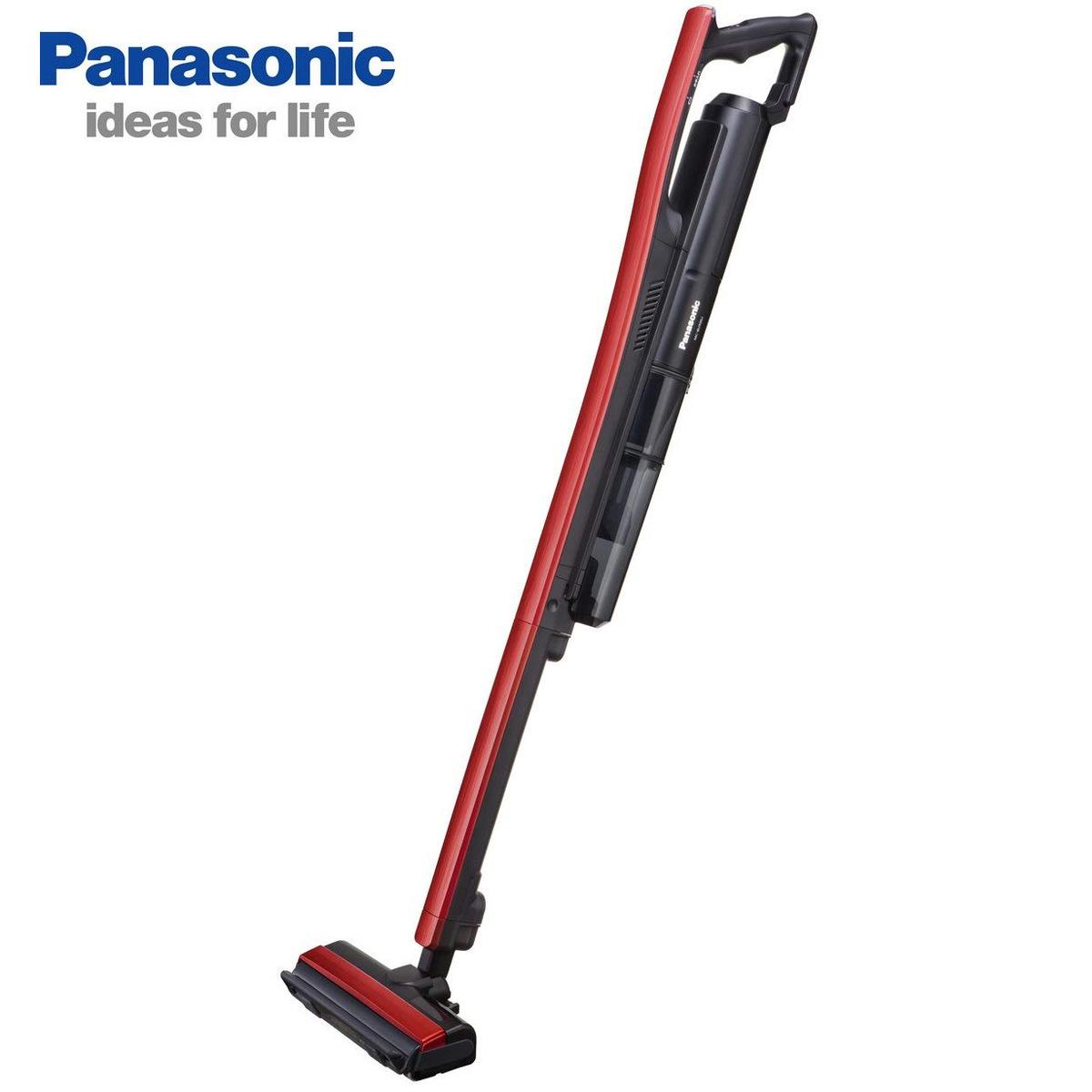 Panasonic コードレス 掃除機 スティッククリーナー 充電式 イット レッドブラック MC-BU500J-R パナソニック 【SG】