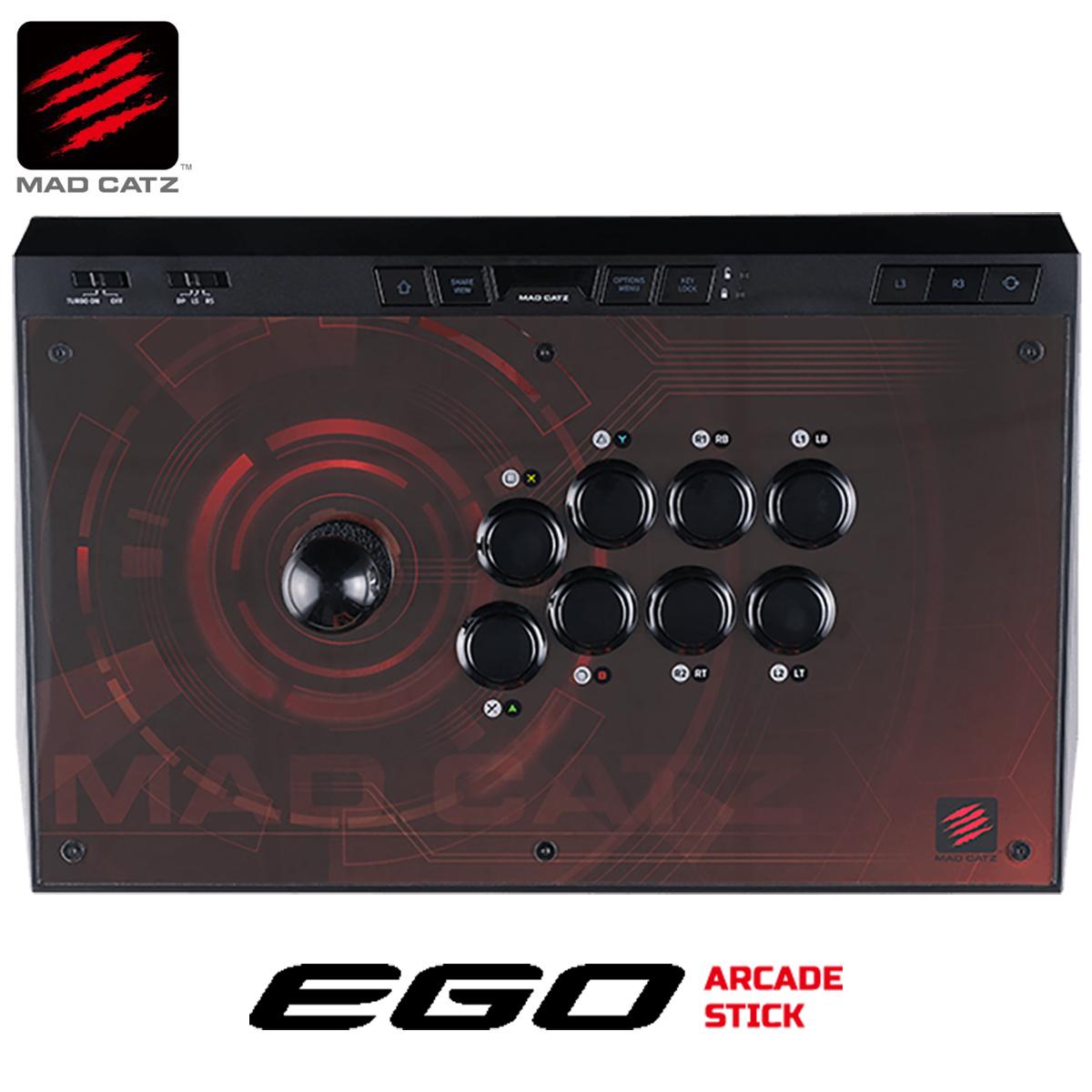 Mad Catz E.G.O. ARCADESTICK アーケードコントローラー アーケードスティック アケコン ファイティングスティック ジョイスティック エゴ 三和電子 GAPCCAINBL000-0J MADCATZ マッドキャッツ (12)