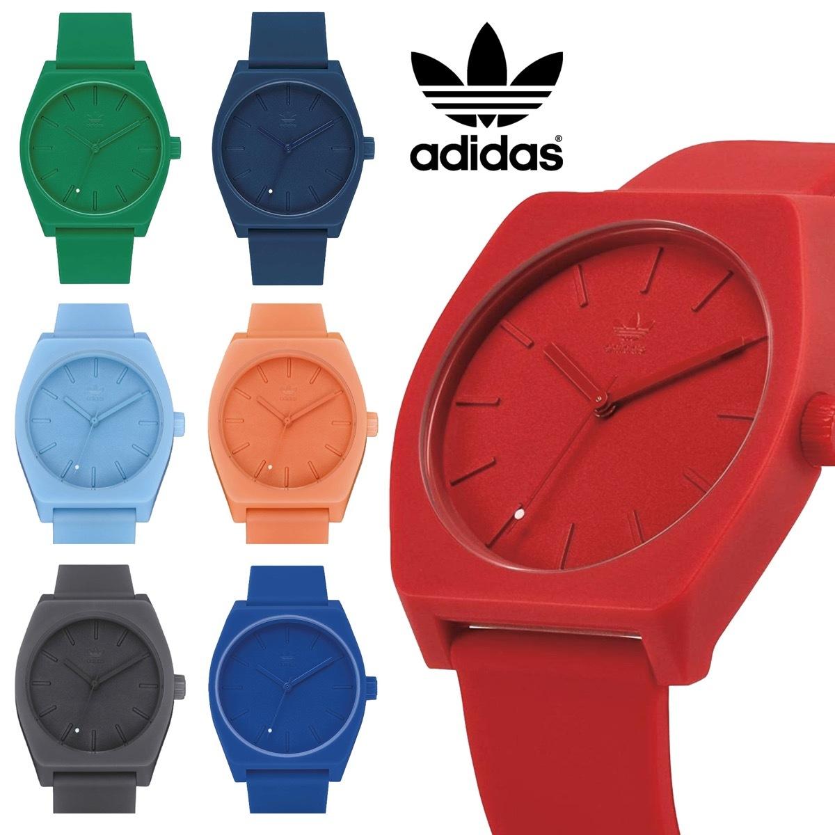 ユニセックスで使えるシンプルなデザイン ペアウォッチにもオススメ adidas Watches 防水 アナログ ウォッチ PROCESS_SP1 オンライン限定商品 Z10 シリコン 腕時計 06 ラバー プレゼント 秀逸 クォーツ ペア ペアウォッチ レディース ムーブメント メンズ アディダス 日本製
