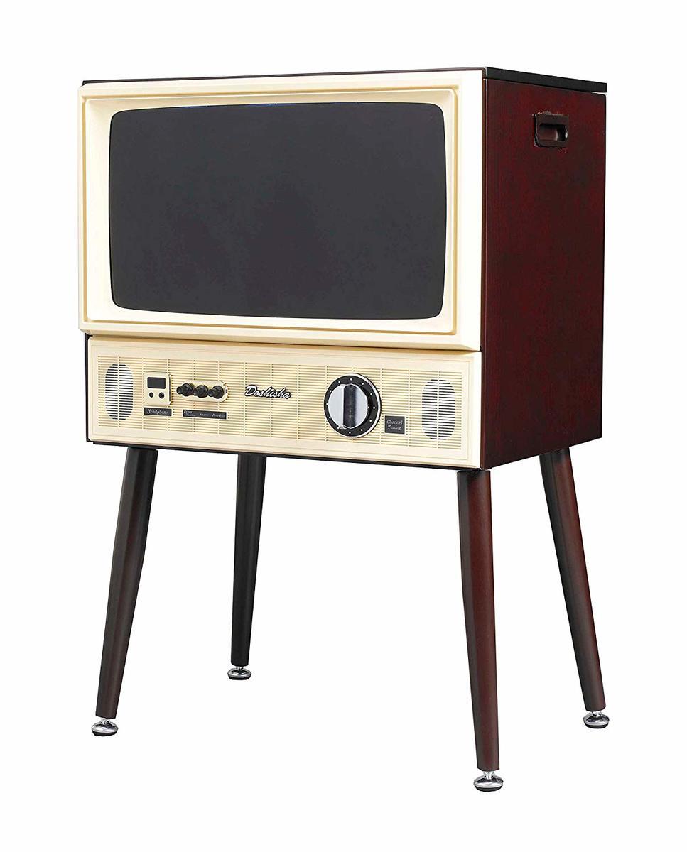 【送料無料/新品】 ドウシシャ VT203-BR 20V型 ヴィンテージデザイン ハイビジョン液晶テレビ DOSHISHA TVで紹介 ハイビジョン液晶テレビ インスタ映え DOSHISHA 20V型 (F), 無添加工房 OKADA:4901778c --- experiencesar.com.ar