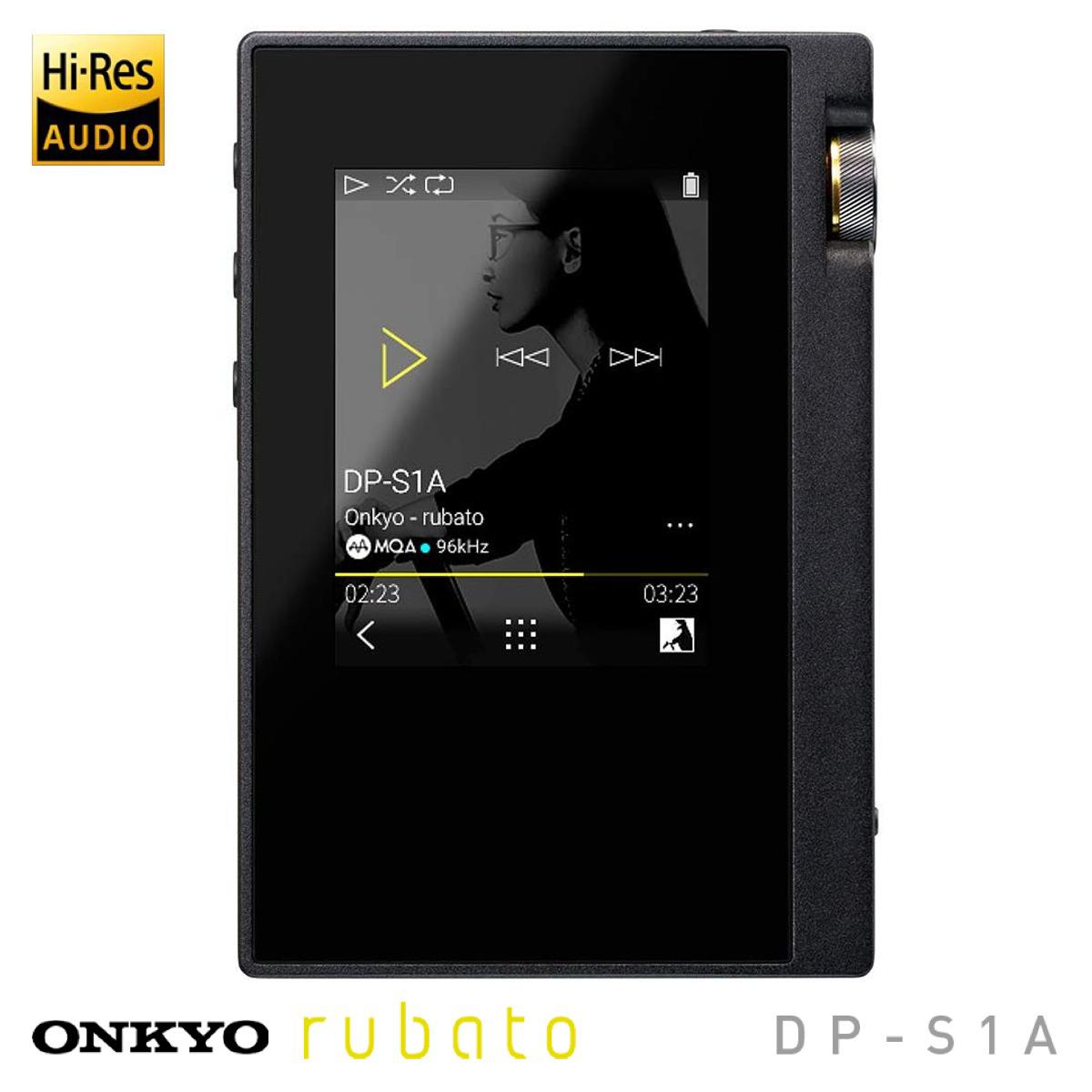 楽天市場】ONKYO DP-S1AB デジタルオーディオプレーヤー rubato ...