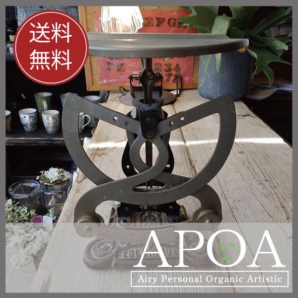 APOA送料無料≪アンティーク レタースケール≫ドイツ製 アンティーク秤 ブロカント インテリア