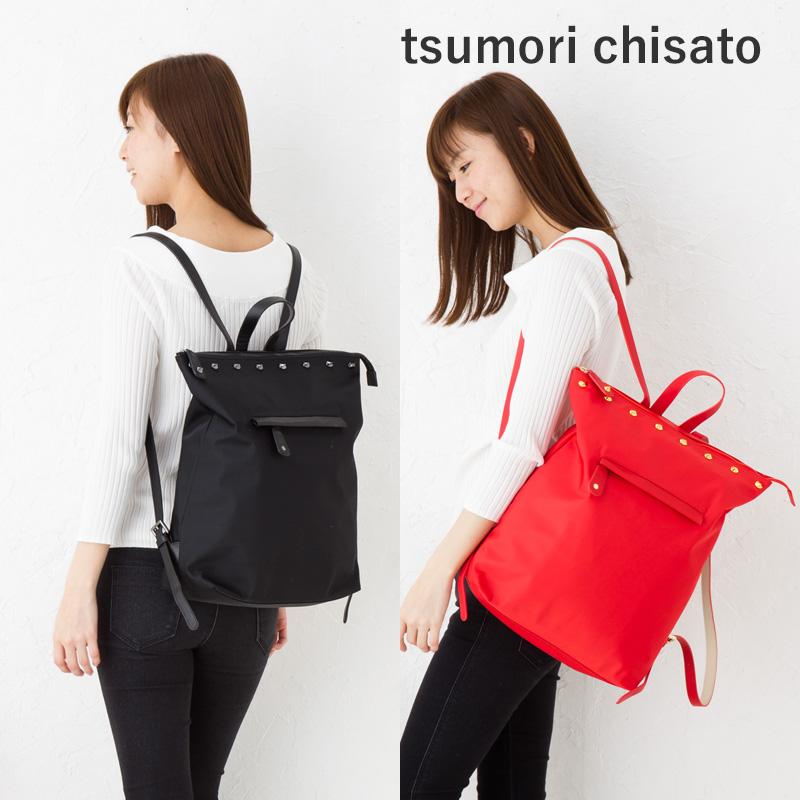 ツモリチサト バッグキャットメタル リュックサックツモリチサト キャリー【tsumori chisato CARRY】50606