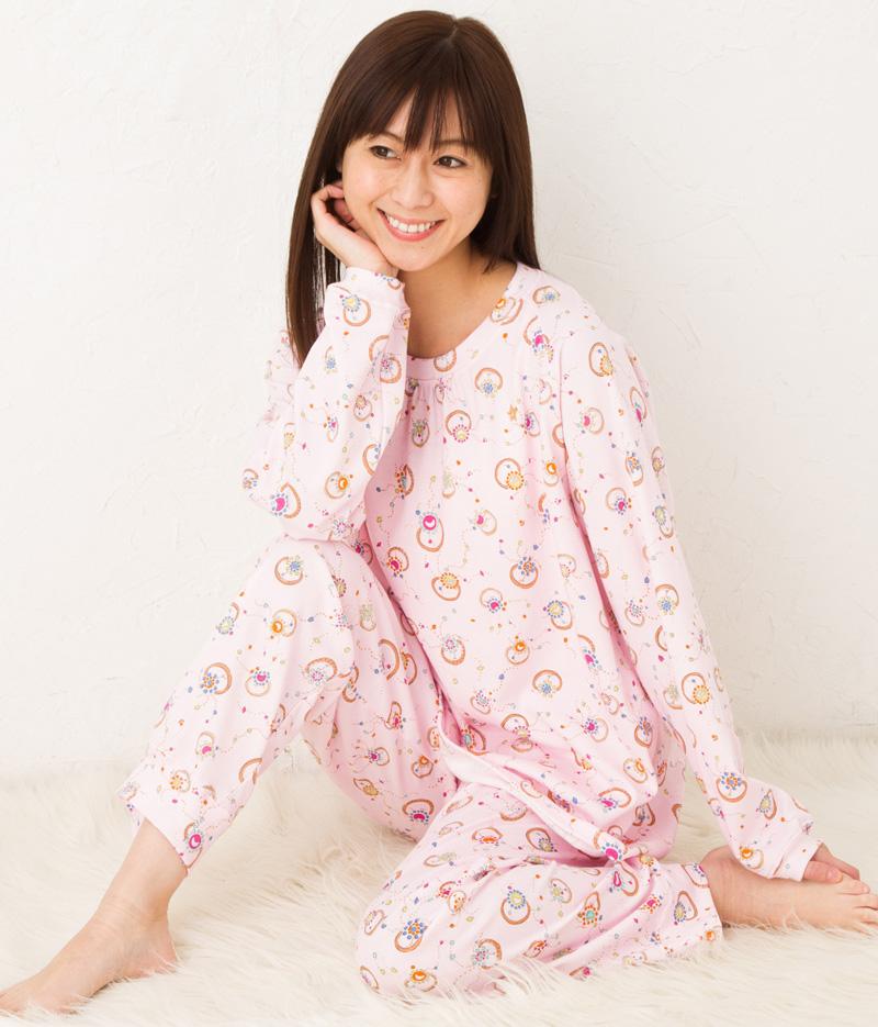 ツモリチサトスリープ パジャマ ルームウェア 部屋着 エイトロック 指輪 UDO657 tsumori chisato SLEEP
