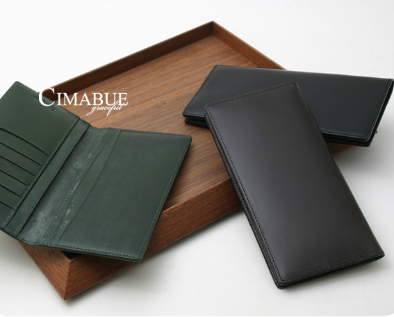 チマブエ CIMABUE graceful チマブエグレースフル サイフ ブライドルレザーかぶせ長財布(小銭入れなし)15051