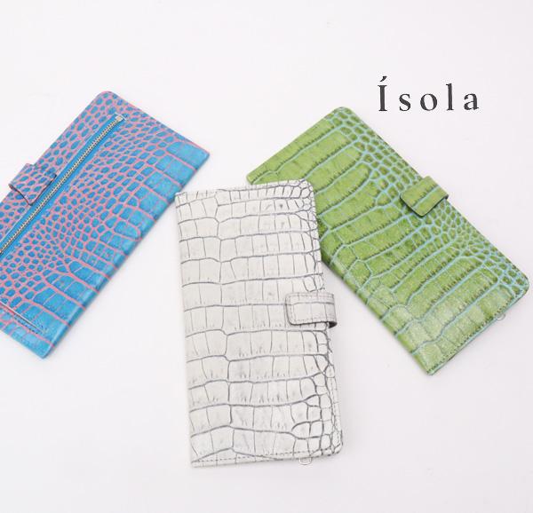 Isola アイソラ 財布 サイフ カーリ2   薄型長財布 12605