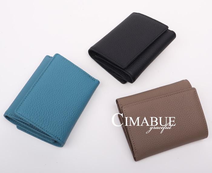 チマブエ CIMABUE graceful チマブエグレースフル サイフ シュランケンカーフ三つ折りミニ財布 15139