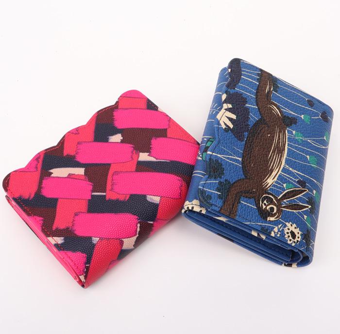 ツモリチサト 財布 サイフ ラパン&メッシュ 二つ折り財布 57322ツモリチサト キャリー【tsumori chisato CARRY】