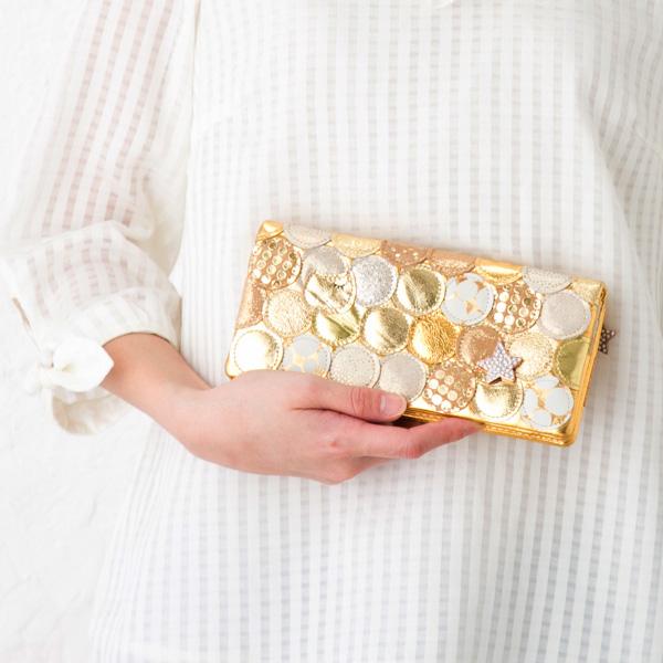 Tsumori Chisato multiplayer dots long wallet tsumori Chisato Carrie