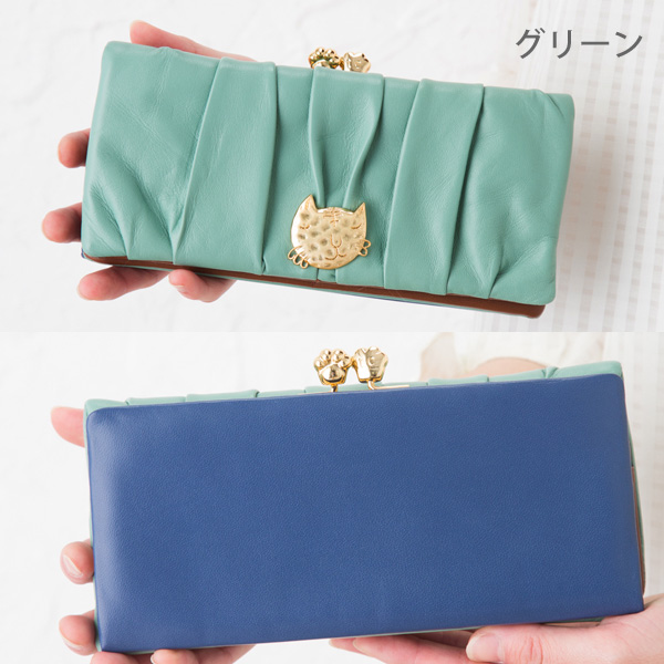 Tsumori Chisato tsumori chisato CARRY ネコフェース long wallet tsumori Chisato Carrie