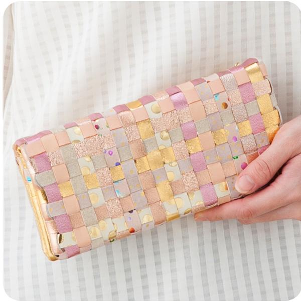 Tsumori Chisato MIX mesh long wallet tsumori Chisato wallet tsumori Chisato Carrie