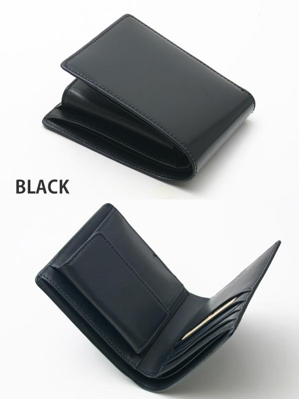 チマブエ CIMABUE graceful チマブエグレースフル サイフ コードバン二つ折り財布(小銭入れ付き)15132