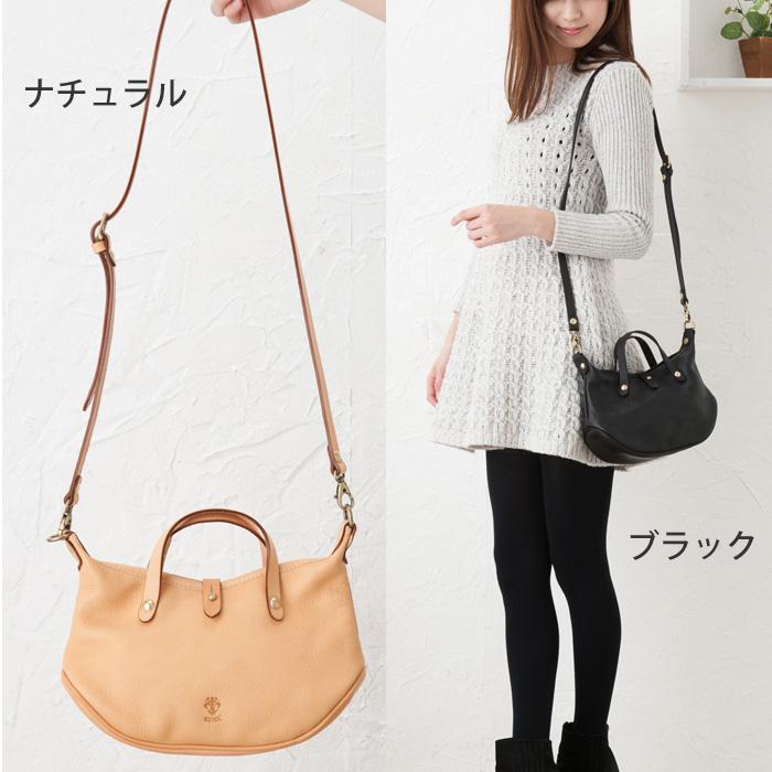★ points 10 times CI-VA Chiba Nume leather boat shape bag (small)
