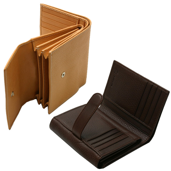 ★ points 10 times Ciba Nume leather tri-fold wallet