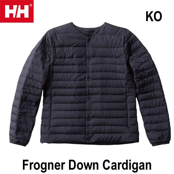 ヘリーハンセン WM WL 送料無料 フログネルダウンカーディガン(ユニセックス)  Helly Hansen Frogner Down Cardigan (KO)ブラックオーシャン HOE11856 KO