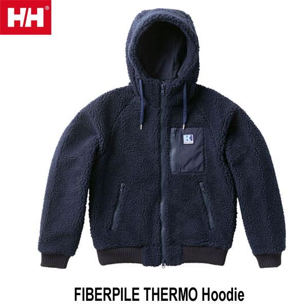 ヘリーハンセン WM ファイバーパイル サーモ フーディー(ユニセックス)  Helly Hansen FIBERPILE THERMO Hoodie (N)ネイビー HOE51852 N