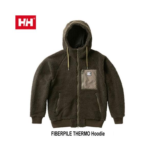 ヘリーハンセン あす楽対応 ファイバーパイル サーモ フーディー(ユニセックス)  Helly Hansen FIBERPILE THERMO Hoodie (CG)シダーグリーン HOE51852 CG