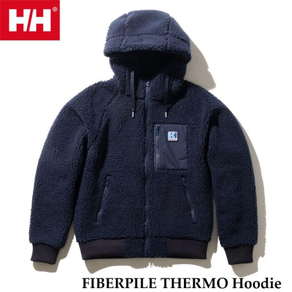ヘリーハンセン HOE51964 N ファイバーパイルサーモフーディー(レディース) Helly Hansen FIBERPILE THERMO Hoodie (N)ネイビー