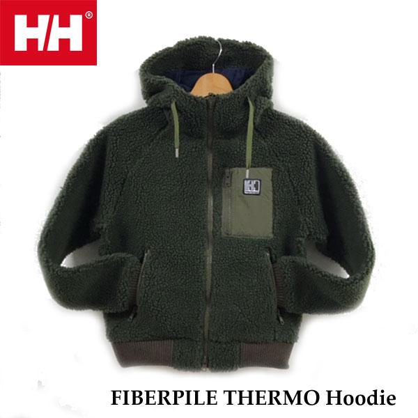 ヘリーハンセン HOE51964 KH ファイバーパイルサーモフーディー(レディース) Helly Hansen FIBERPILE THERMO Hoodie (KH)カーキ