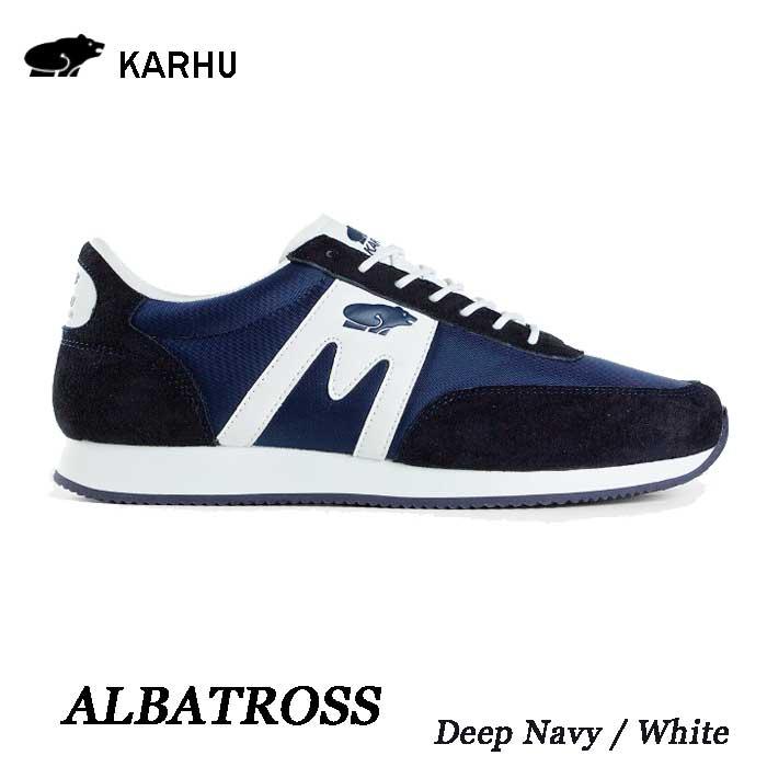 カルフ KH802501 ディープネイビー/ホワイトアルバトロスKARHU Albatoross DeepNavy / Whiteレディース メンズ ユニセックス 靴 スニーカー クッションシューズ シロクマ  北欧
