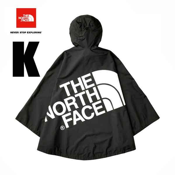 The North Face-adaptive WP camping cape (unisex) The North Face WP CAMP Cape festival hiking camping (K) black