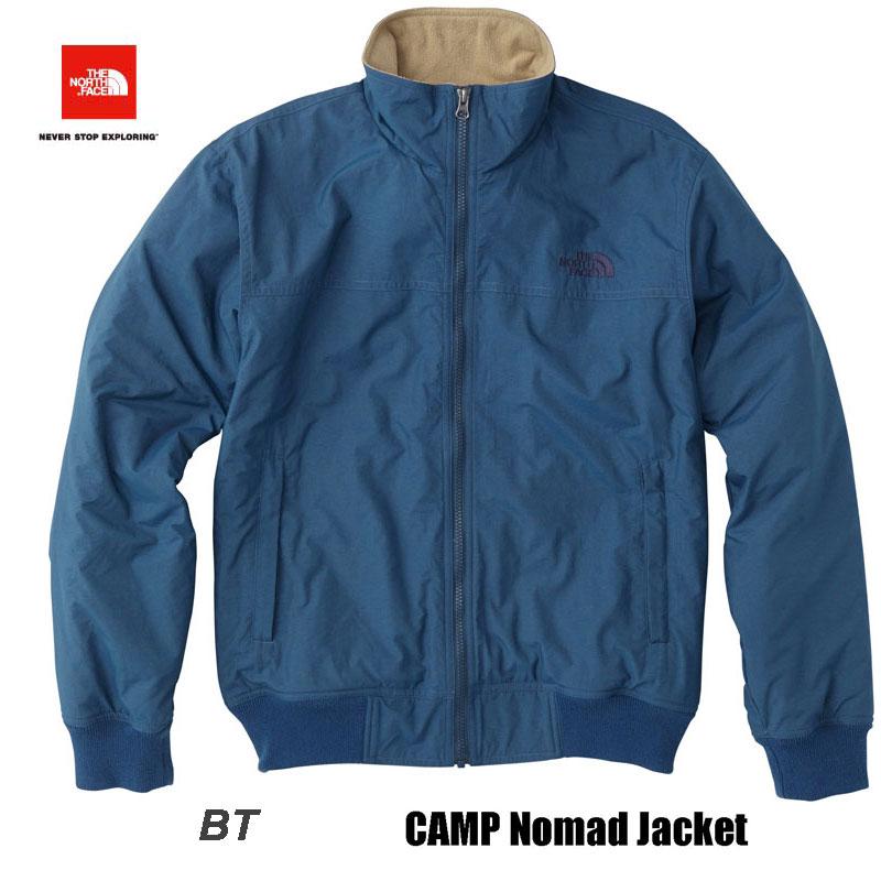 ザ ノースフェイス 2018-19年最新在庫 キャンプノマドジャケット(メンズ) 防風性、撥水性に優れた軽量ジャケット The North Face CAMP Nomad Jacket NP71732  (BT)ブルーウィングティール
