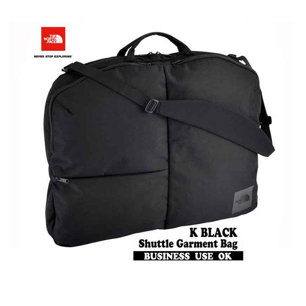 ザ ノースフェイス 2019年春夏最新在庫 シャトルガーメントバッグ K ブラックあり The North Face Shuttle Garment Bag NM81805 BLACK 高強度のガーメントバッグです 黒 リュック バックパック 大学生 社会人 ビジネス スーツ収納 就職活動