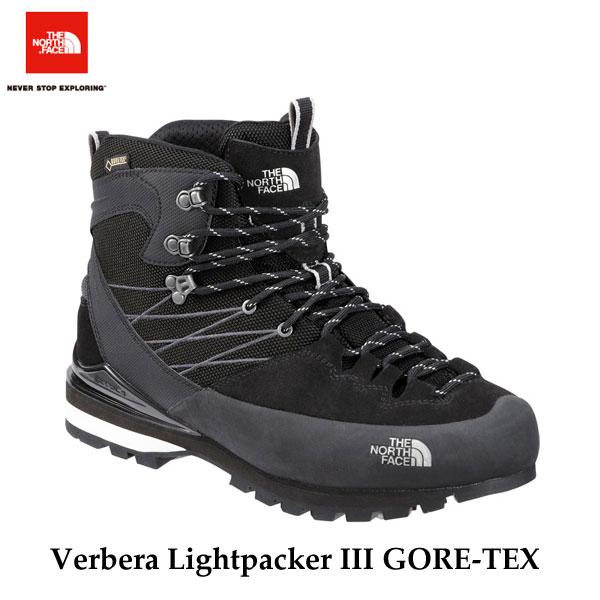 ザ ノースフェイス ヴェルベラ ライトパッカーIII GORE-TEX(ユニセックス) 防水 トレッキング 山 ブーツ The North Face Verbera Lightpacker III GORE-TEX NF51610(KW)TNFブラック×ホワイト