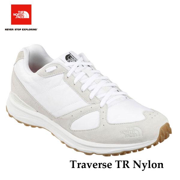 ザ ノースフェイス  トラバース TR ナイロン(ユニセックス) The North Face Traverse TR Nylon NF51643 (WB)TNFホワイト×ガムブラウン