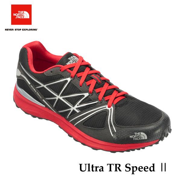 ザ ノースフェイス 売れてます! ウルトラ トレイルスピード II (ユニセックス) The North Face Ultra TR Speed II NF51704 (KR)TNFブラック×TNFレッド