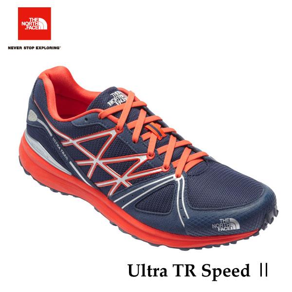 ザ ノースフェイス  ウルトラ トレイルスピード II (ユニセックス) The North Face Ultra TR Speed II NF51704 (BO)コズミックブルー×ヴァレンシアオレンジ