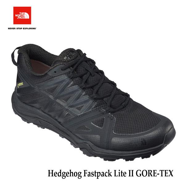 ザ ノースフェイス ヘッジホッグファストパックライト II GORE-TEX (メンズ)NF51725 KK ゴアテックス 防水 The North Face Mens Hedgehog Fastpack Lite GORE-TEX (KK)TNFブラック×TNFブラック