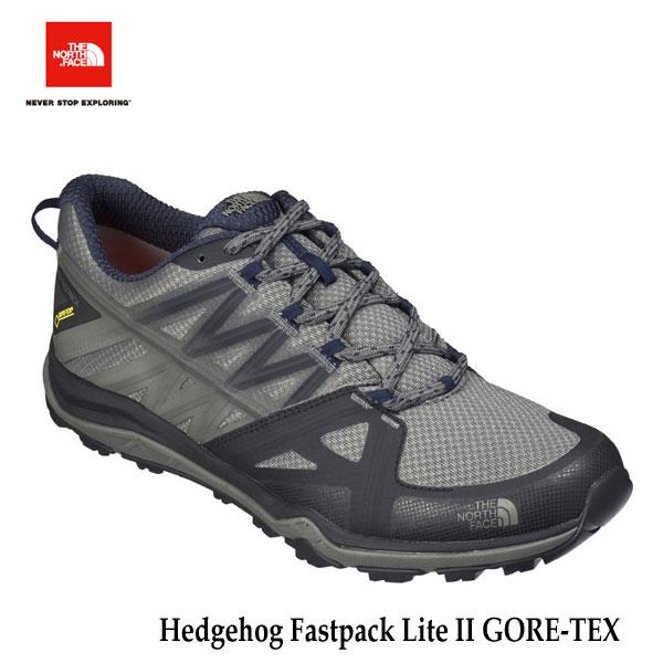 ザ ノースフェイス  ヘッジホッグファストパックライトII GORE-TEX(メンズ) The North Face Hedgehog Fastpack Lite II GORE-TEX NF51725 (KN)TNFブラック×アーバンネイビー