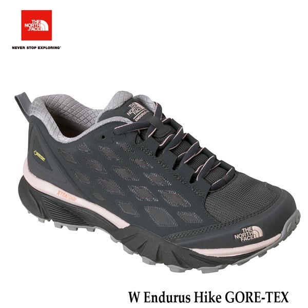 ザ ノースフェイス  エンデュラスハイク GORE-TEX(レディース) The North Face W Endurus Hike GORE-TEX NFW01722(GS)ダークシャドーグレー×ピンクソルト