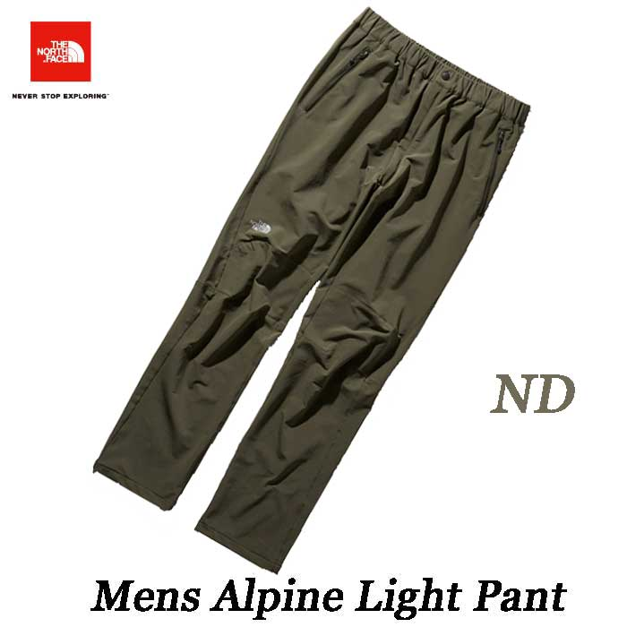 ザ ノースフェイス 2019年春夏最新在庫 アルパインライトパンツ(メンズ) 多くの山岳ガイド達にも愛用 The North Face Mens Alpine Light Pant NT52927 (ND)ニュートープダークグリーン