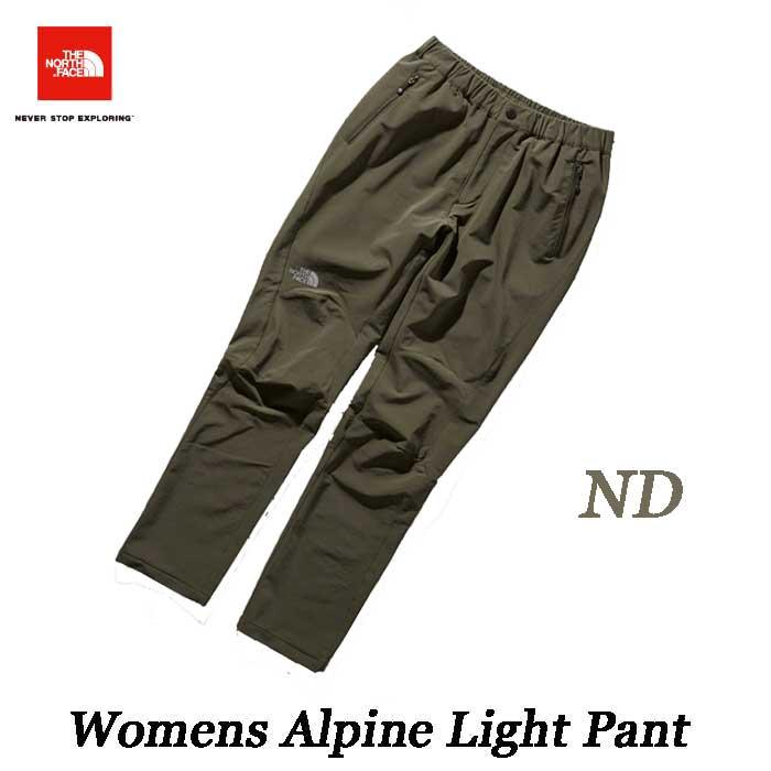 ザ ノースフェイス 2019年春夏最新在庫 ウィメンズ アルパインライトパンツ(レディース) The North Face Womens Alpine Light Pant NTW52927 (ND)ニュートープダークグリーン