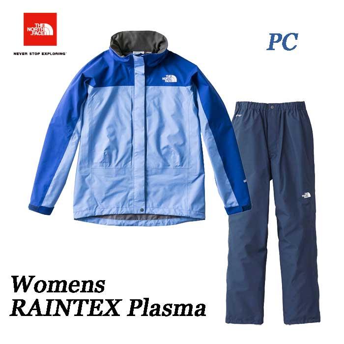 ザ ノースフェイス 2019年春夏最新在庫 レインテックスプラズマ(レディース) The North Face RAINTEX Plasma NPW11700 (PC)プロバンスブルー×ブライトコバルトブルー