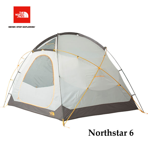 ザ ノースフェイス NV21803 GO ノーススター6 The North Face Northstar 6 ゴールデンオーク キャンプ テント 6人用