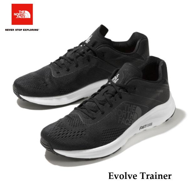 ザ ノースフェイス NF51901 KW イヴォルブ トレイナー 人気のブラック再入荷! The North Face Evolve Trainer (KW)TNFブラック×TNFホワイト