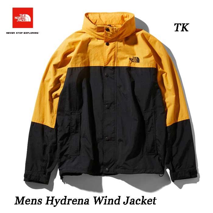 ザ ノースフェイス ハイドレナウィンドジャケット(メンズ) ウインドブレーカー The North Face Hydrena Wind Jacket NP21835 (TK)TNFイエロー×ブラック
