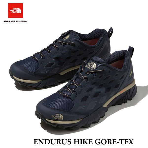 ザ ノースフェイス エンデュラスハイク GORE-TEX(メンズ) 防水 トレッキング 山 ブーツ The North Face ENDURUS HIKE GORE-TEX NF01722(NK)アーバンネイビー×ケルプタン